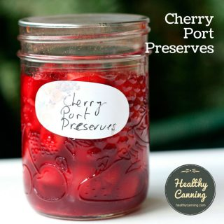 Cherry and Port Preserves