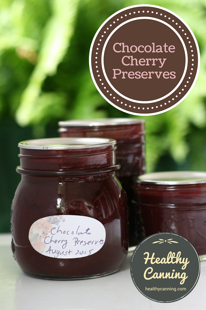 Chocolate Cherry Preserves 01