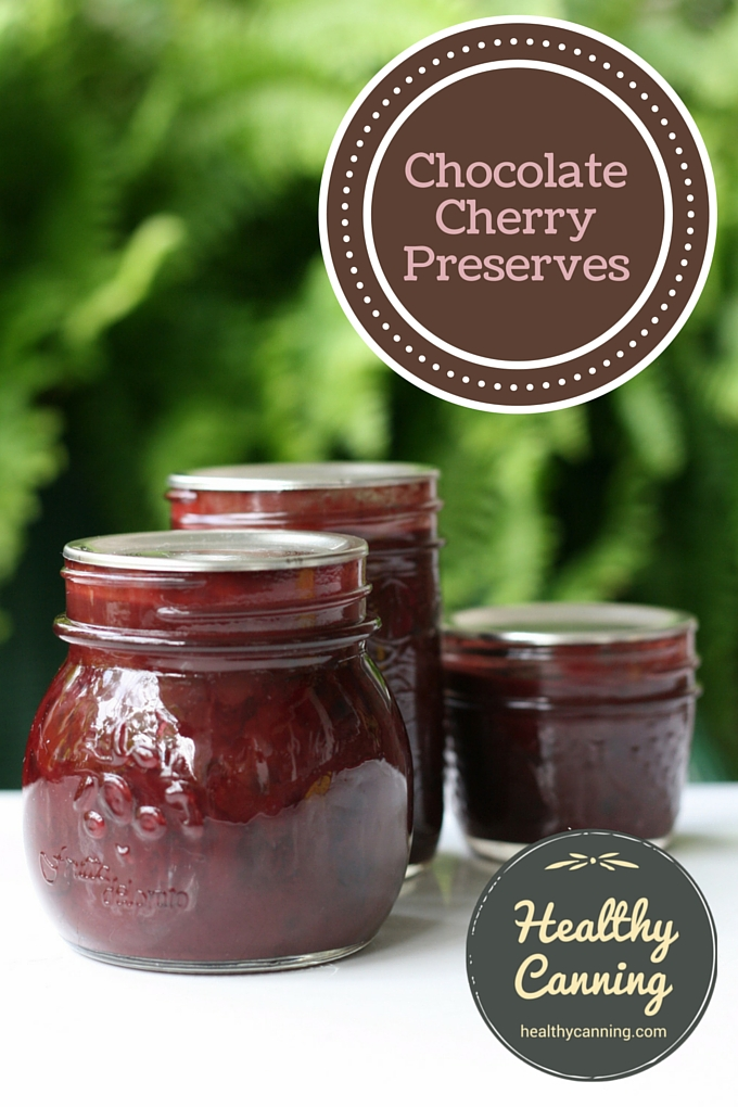 Chocolate Cherry Preserves 02