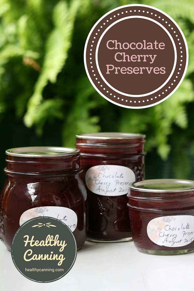 Chocolate Cherry Preserves 03