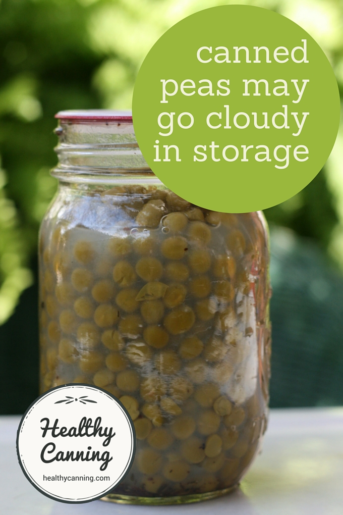 Cloudy canned peas 1001