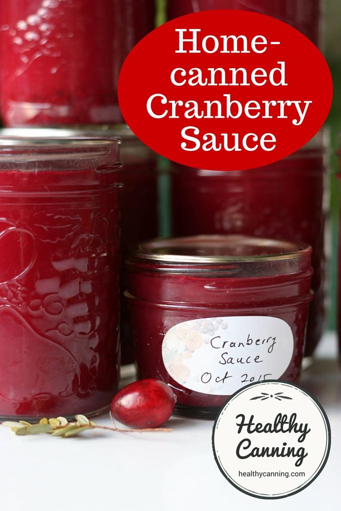 Cranberry Sauce 01
