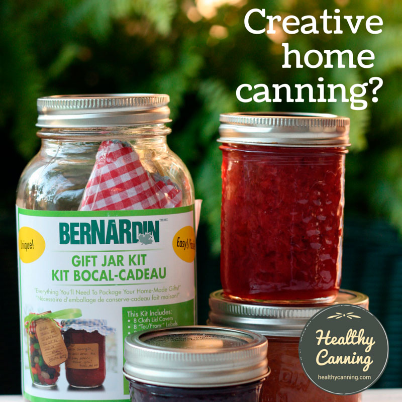 Creative home canning