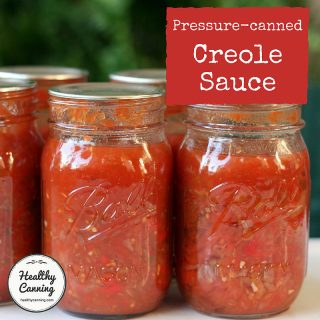 Creole Sauce for Pressure Canning