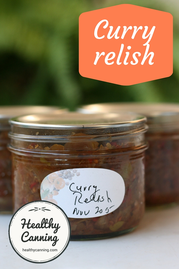 Curry relish 1001