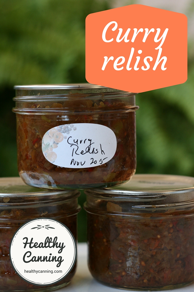 Curry relish 1002
