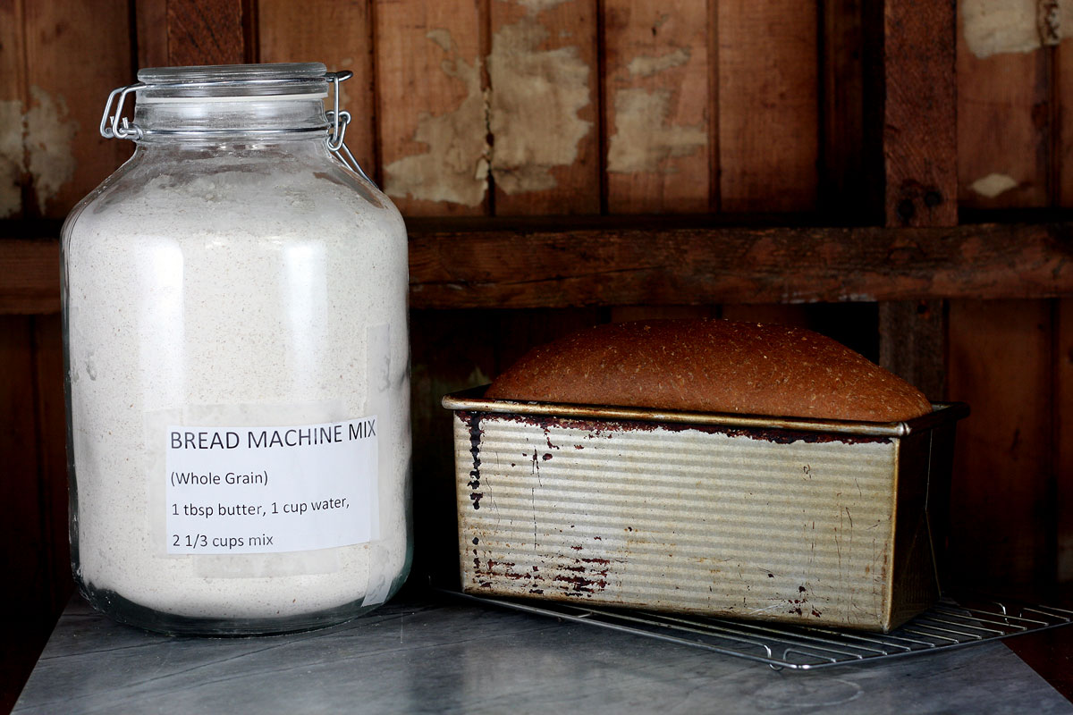 DIY Mix for Bread Machine