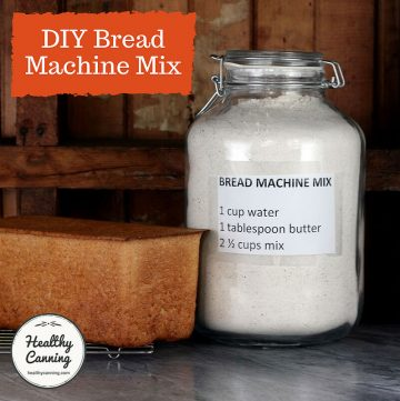 Mix for bread machine