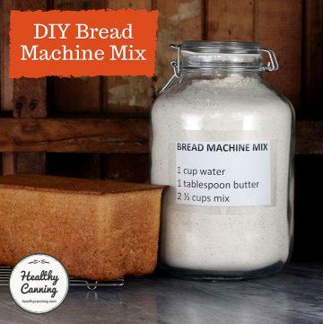Mix for bread machine