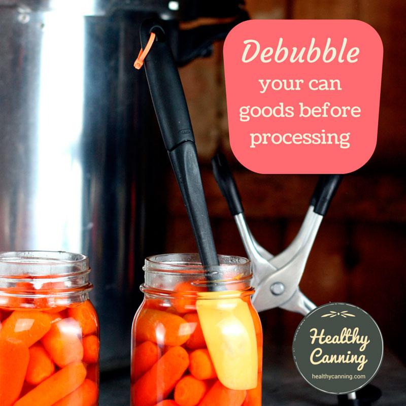 Debubbling