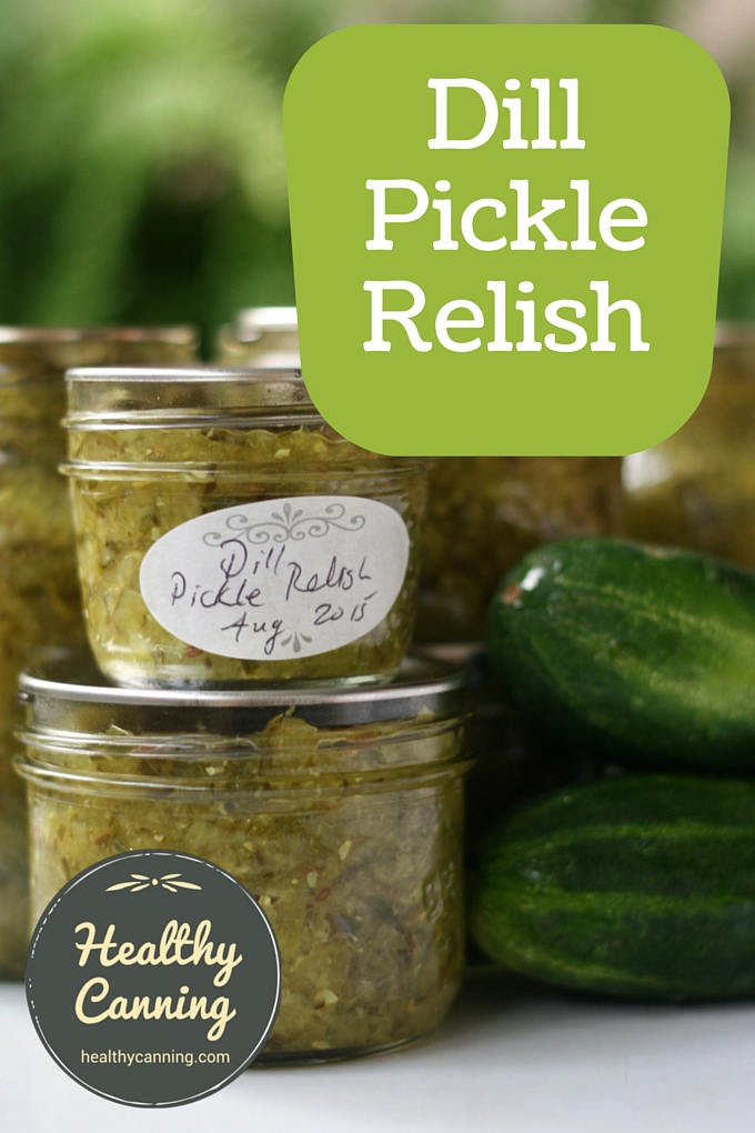 Dill Pickle Relish 2001