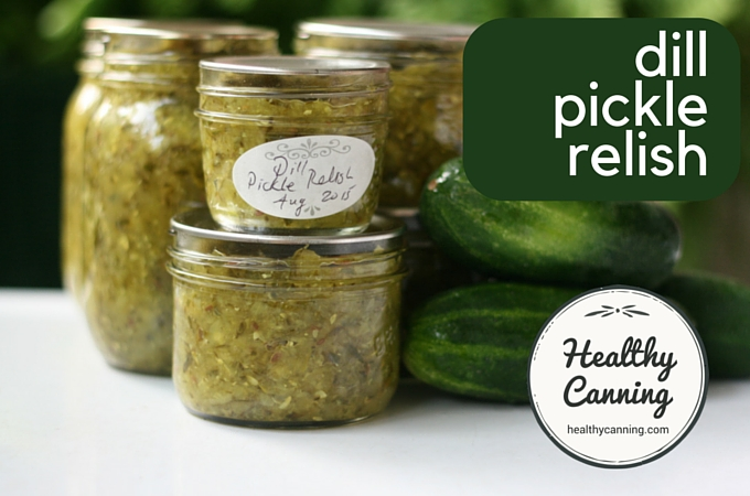 Dill Pickle Relish 2002