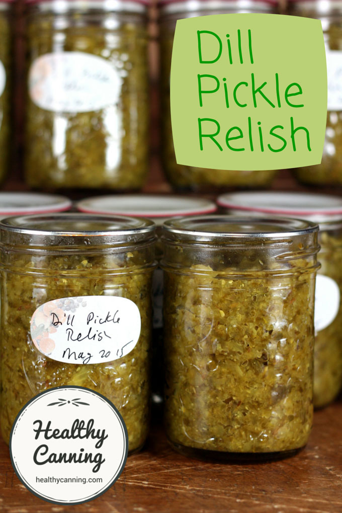 Dill pickle relish 002
