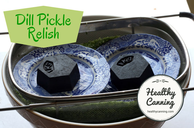 Dill pickle relish 004