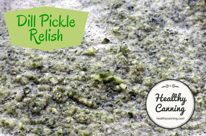 Dill pickle relish 006