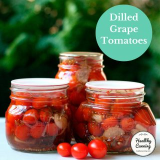 Dilled Grape Tomatoes