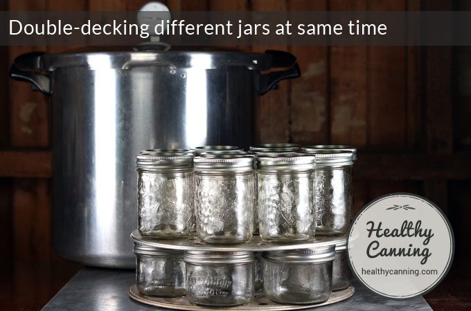 Double-decking-different-jars-at-same-time