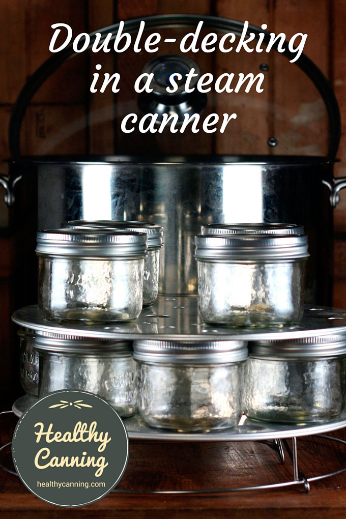 Double-decking-in-a-steam-canner
