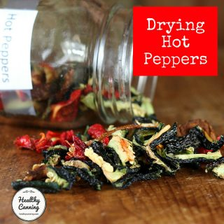Drying Hot Peppers