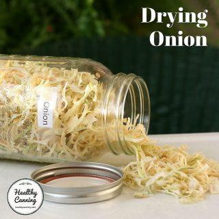Drying Onion