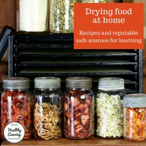 Drying food