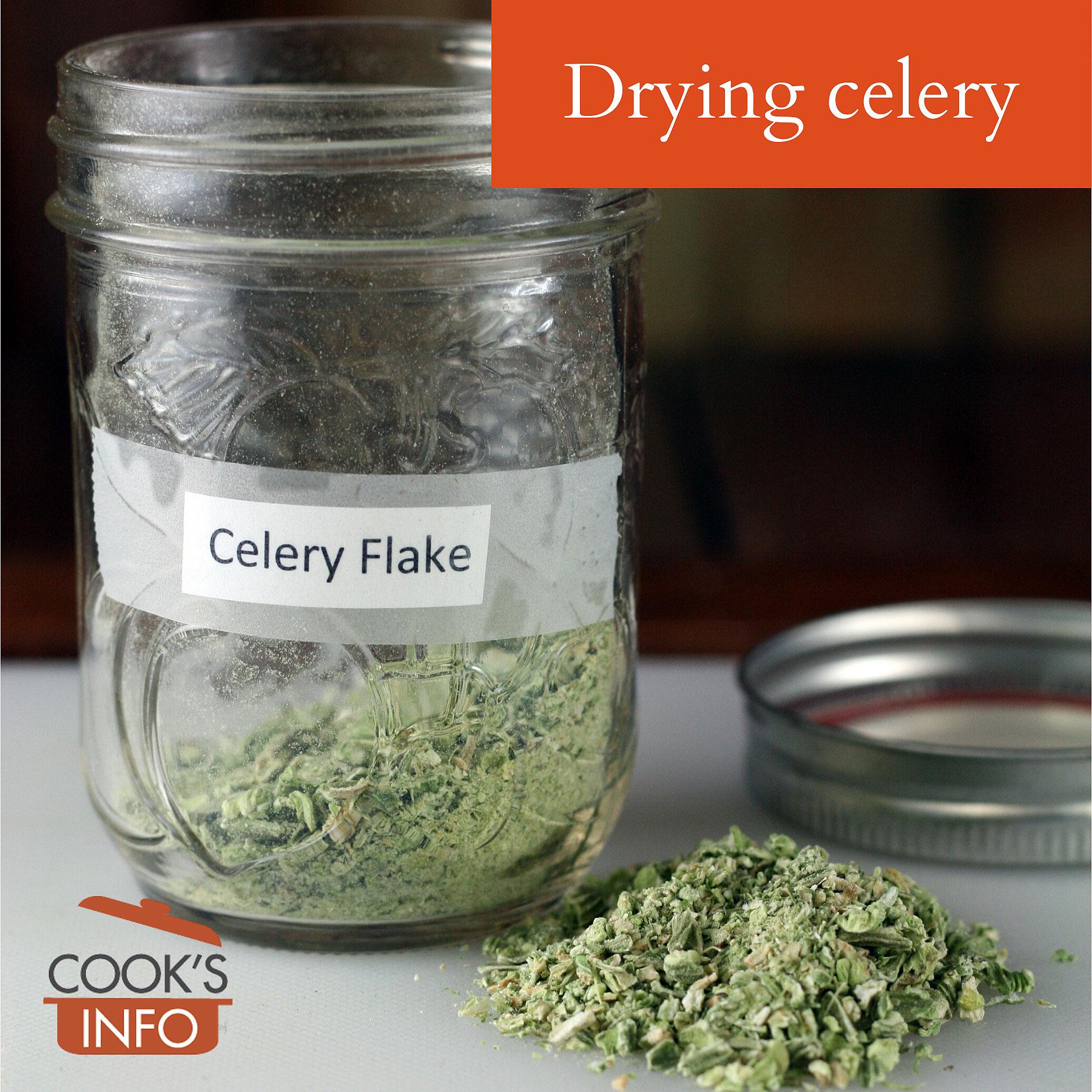 Dried celery