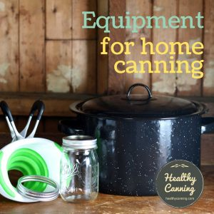 Photo of miscellaneous canning equipment