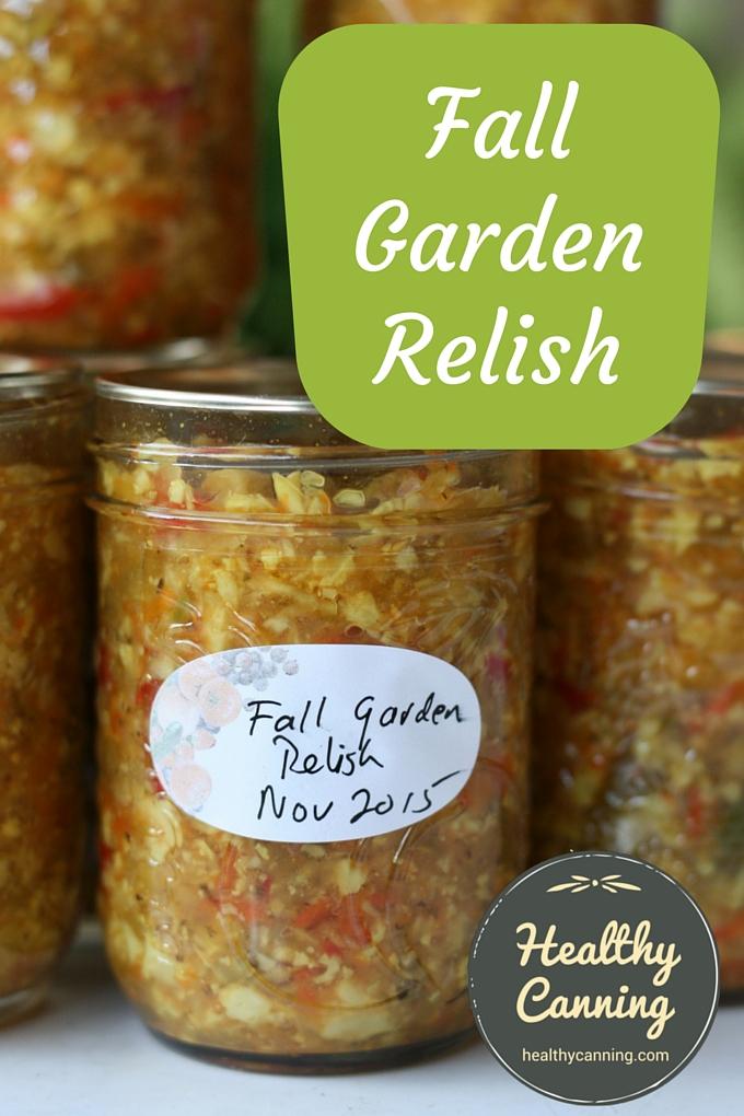 Fall Garden Relish 01