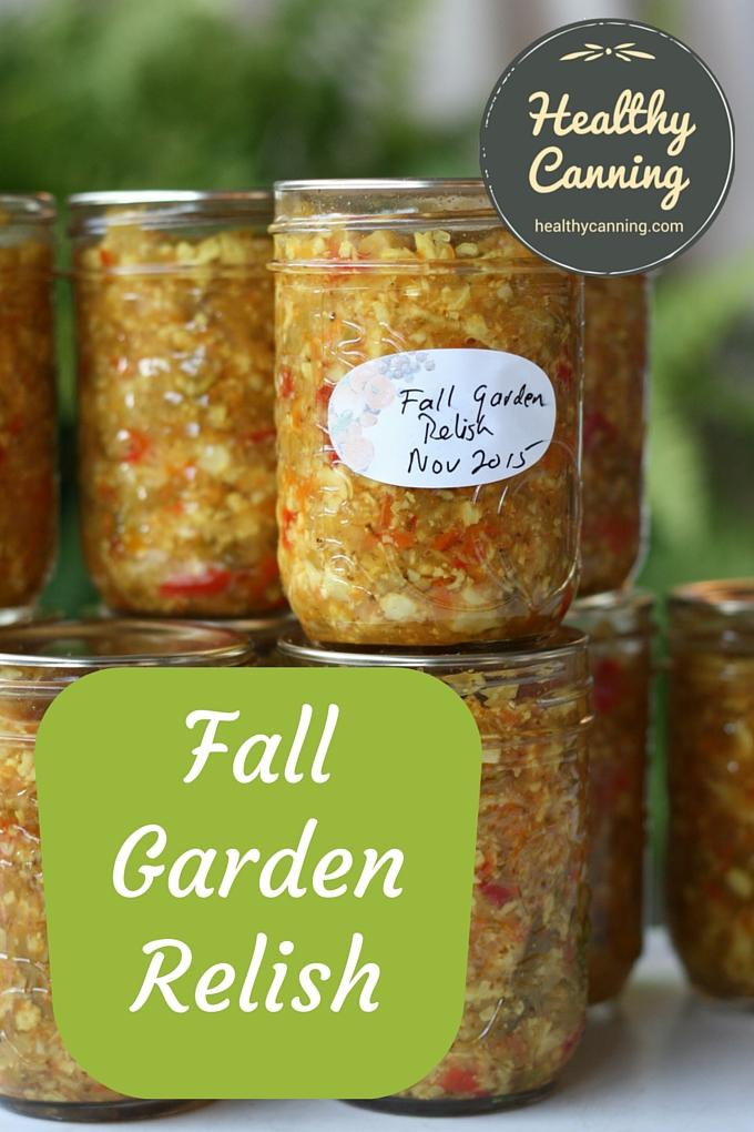 Fall Garden Relish 03