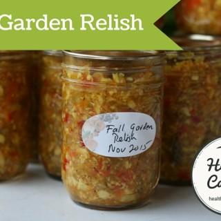 Fall Garden Relish 04