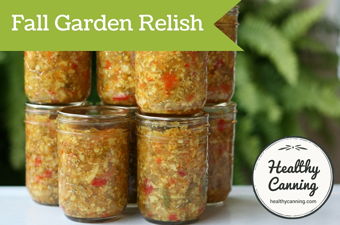 Fall Garden Relish 06