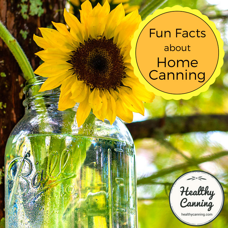 Fun facts about home canning