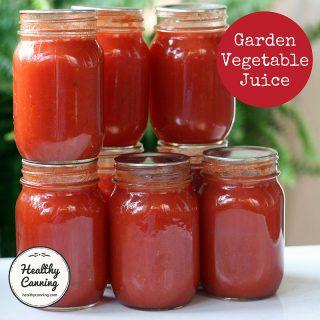 Garden Vegetable Juice