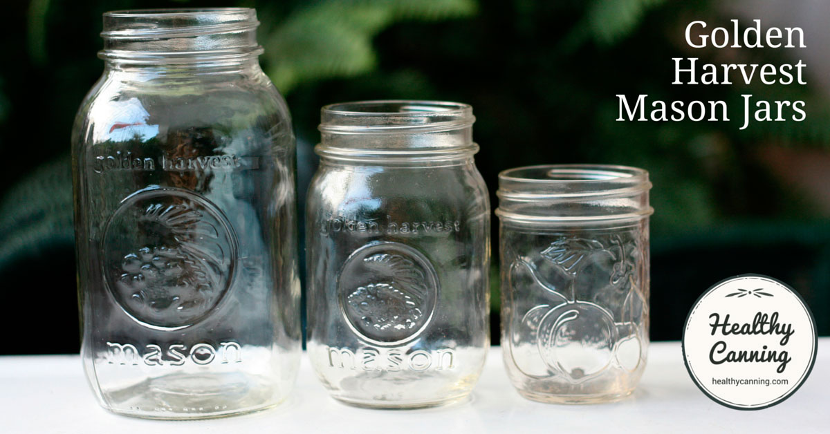 golden harvest mason jars healthy canning. Black Bedroom Furniture Sets. Home Design Ideas