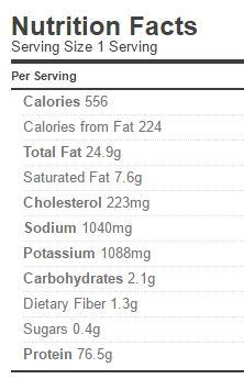 goulash-nutrition