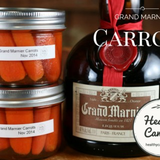 Carrots with Grand Marnier