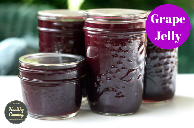grape jelly healthy canning