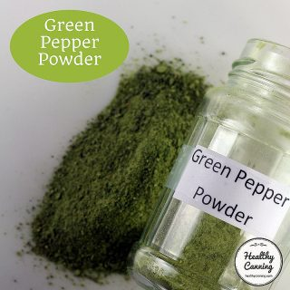 Green Pepper Powder
