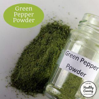 Green Pepper Powder