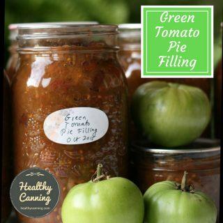 Green Tomato Pie Filling