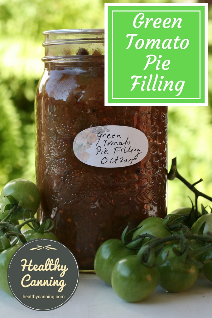 Green Tomato Pie Pilling 1001