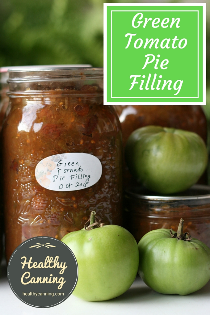 Green Tomato Pie Pilling 1002