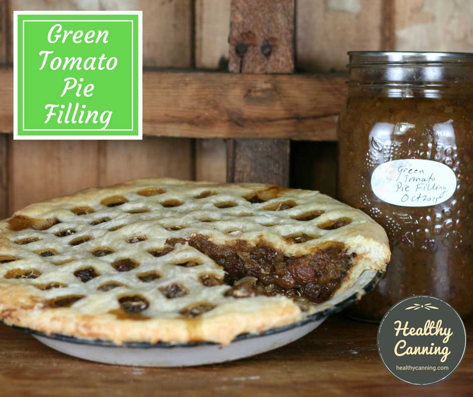 Old Fashioned Green Tomato Mincemeat Recipe
