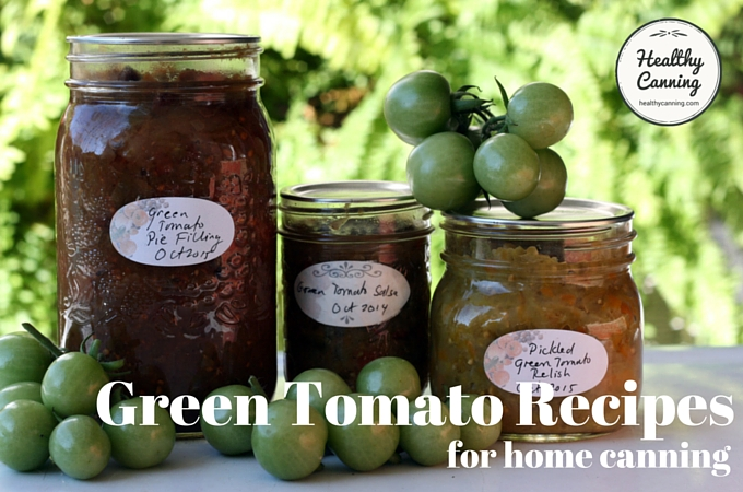 Green Tomato Recipes 1003