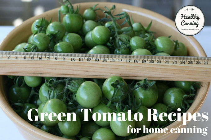 Green Tomato Recipes 1004