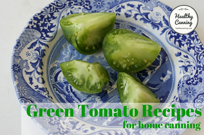 Green Tomato Recipes 1006