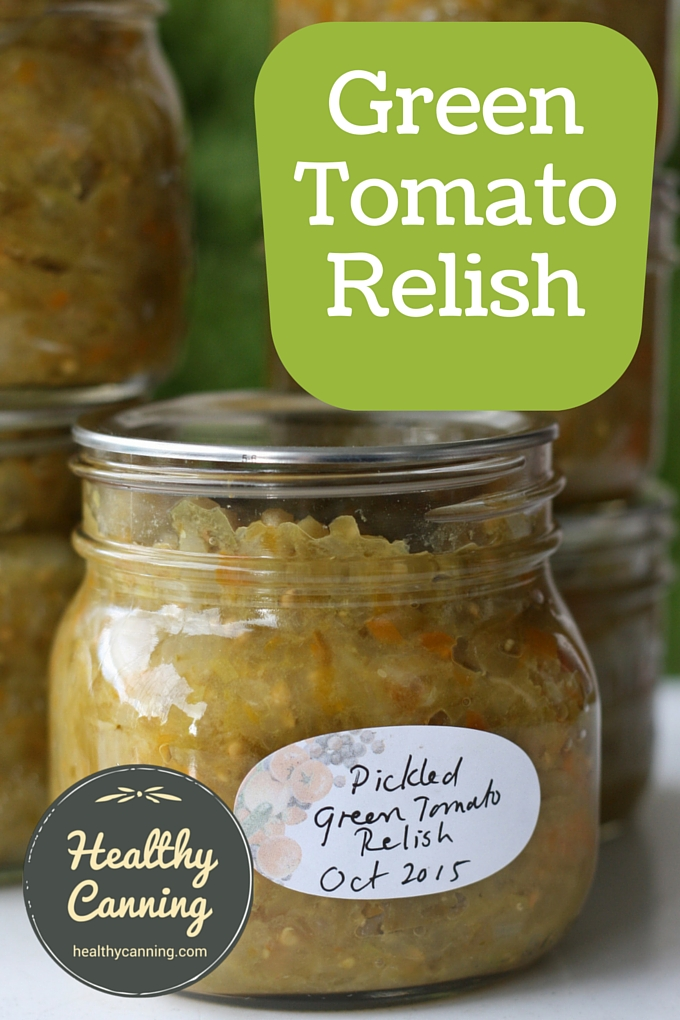 Green Tomato Relish 01