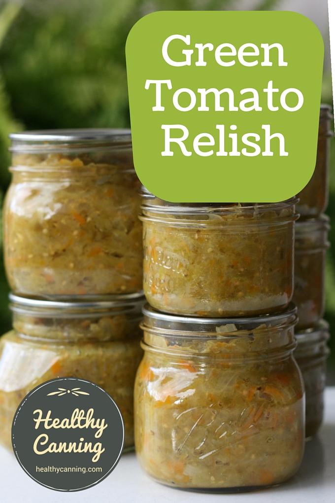 Green Tomato Relish 02
