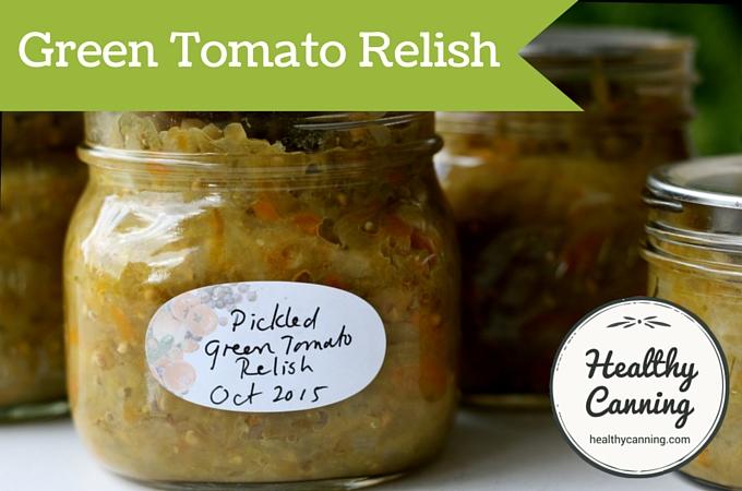 Green Tomato Relish 03