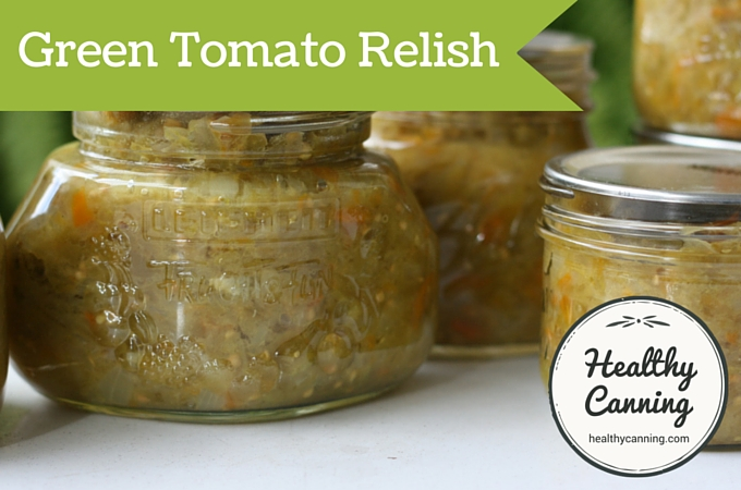 how to make canned green tomato salsa